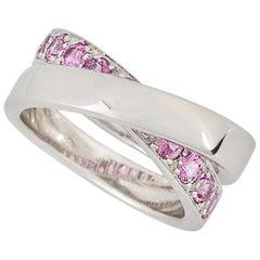 Cartier Paris Nouvelle Vague Pink Sapphire Ring
