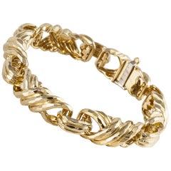 Henry Dunay Twisted Link Bracelet