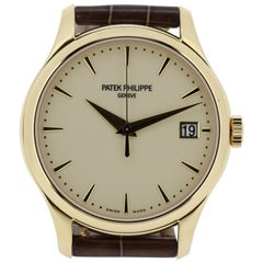 Patek Philippe 5227J-001 Calatrava Watch, New Old Stock, Sold in 2018
