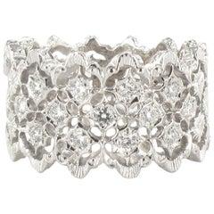 New Diamond Gold Filigree Ring