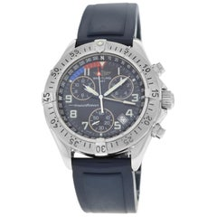 Authentic Men's Breitling SuperOcean Steel Date Quartz Watch