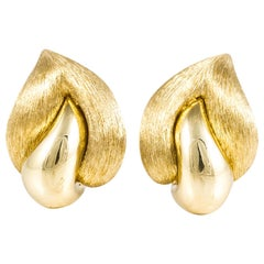 Henry Dunay 18 Karat Sabi Earrings