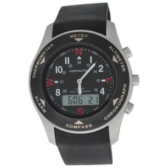 Authentic Men's Hamilton Khaki Multi-Touch Multi Function Watch