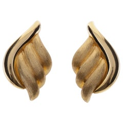 Henry Dunay 18K Sabi Earrings