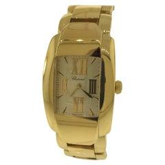 Chopard La Strada 18 Karat Yellow Gold Ladies Bracelet Watch 41/9254