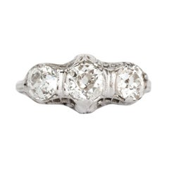 .56 Carat Diamond White Gold Engagement Ring