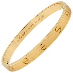 Cartier Love Bracelet 18 Karat Yellow Gold