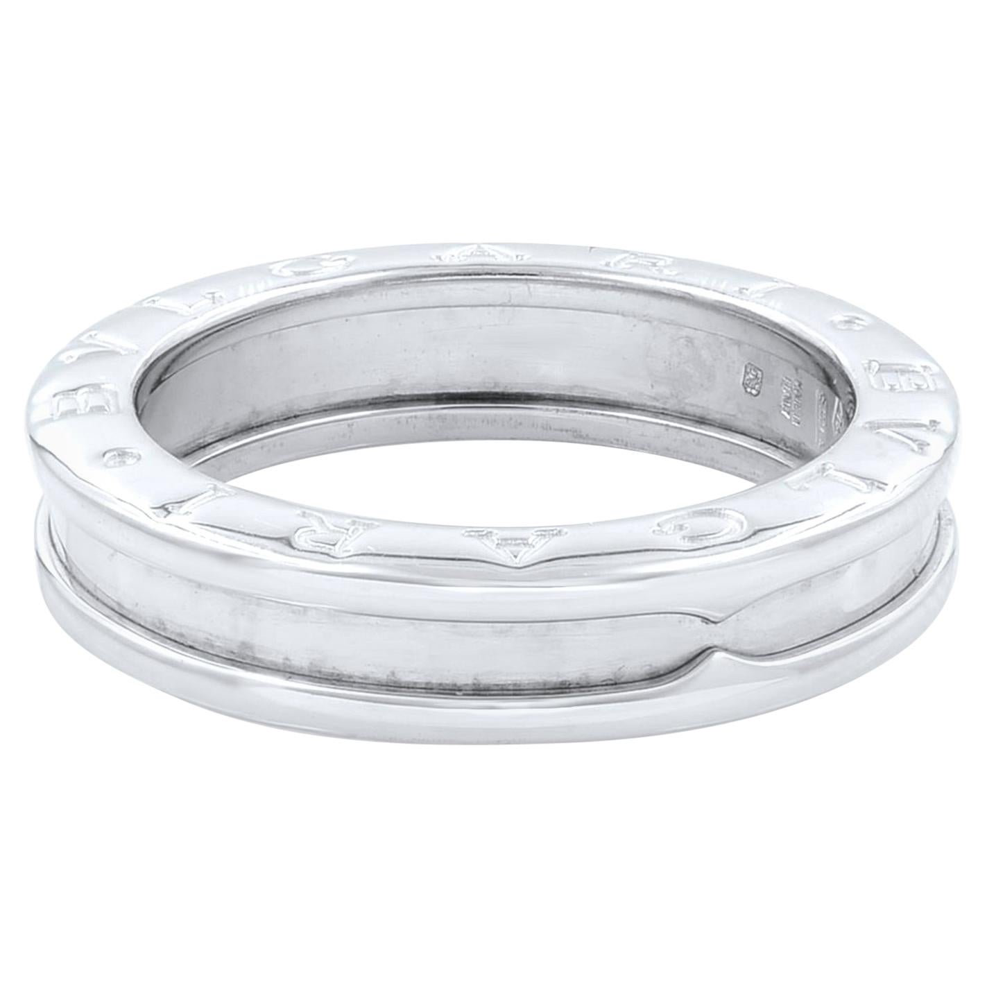 Bvlgari B.Zero 1 18 Karat White Gold Ring