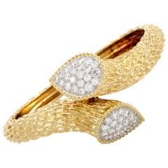 Boucheron Bohème Diamond Yellow Gold Bracelet