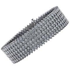 30.25 Carat Diamond Bracelet