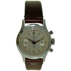 Wittnauer Stainless Steel High Grade Chronograph with Original Dial