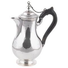 Late 18th-Early 19th Century Silver Coffee Pot, Italian-Trento