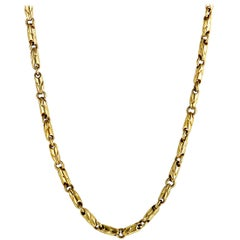 Bulgari Yellow Gold Chain Large Necklace