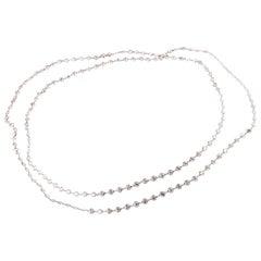 72.26 Carat Diamond Necklace by Manny Winick