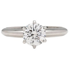 GIA D/VS2 1.02 Carat Solitaire Engagement Ring