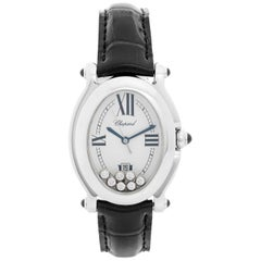 Chopard Happy Sport Oval Stainless Steel Watch