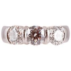 Tiffany & Co. 2.11 Carat Diamond Platinum Ring