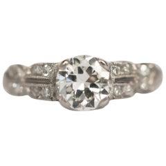 .75 Carat Diamond Platinum Engagement Ring