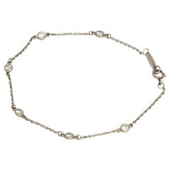 Vintage Tiffany & Co. Peretti Diamond and Platinum Bracelet