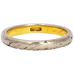 Edwardian Gold and Platinum Ring