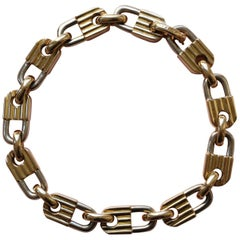 Mauboussin Bi-Color Gold Lock Bracelet