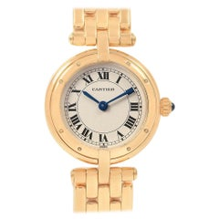 Cartier Panthere Vendome 18 Karat Yellow Gold Ladies Watch 6692