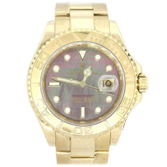 Rolex 16628 Yacht-Master Tahitian Mother of Pearl Dial Watch
