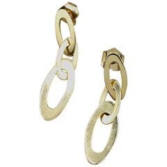18 Karat Yellow Gold Roberto Coin Earrings
