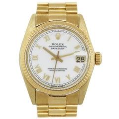 Rolex 6827 Datejust Midsize Presidential Wristwatch
