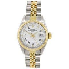 Rolex 6917 Date Roman Dial Wristwatch