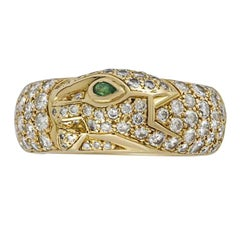 Cartier Panthere de Cartier Diamond Ring