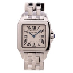 Women's Cartier Santos Demoiselle Stainless Steel, circa 2000s