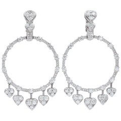 Graff Diamond Heart 'Gypsy' Earrings