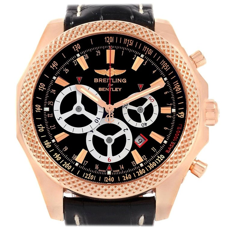 Breitling Bentley Barnato Racing Rose Gold Limited Edition