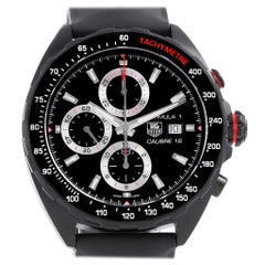TAG Heuer Formula One Chronograph Black Dial Men's Watch CAZ2011 Unworn