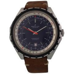 Rare Breitling 188 Chronomat Lapis Blue Dial Prototype Watch