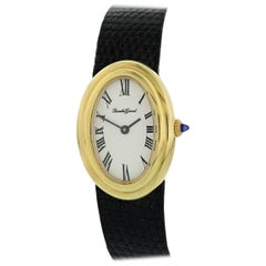 Bueche Girod Vintage 18 Karat Yellow Gold Ladies Watch