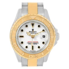 Rolex Yachtmaster Steel Yellow Gold Ladies Watch 169623 Box Papers
