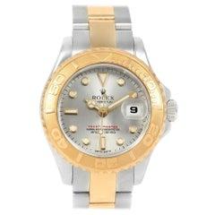 Rolex Yachtmaster Steel 18 Karat Yellow Gold Ladies Watch 169623 Box