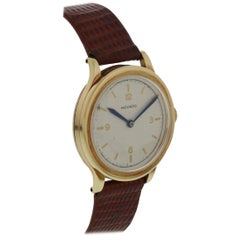 Vintage Movado Gold Toned Mechanical Hand Winding Watch