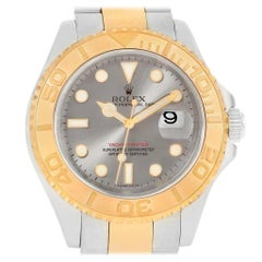 Rolex Yachtmaster 40 Steel Yellow Gold Steel 16623 Box Card