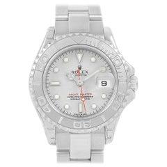 Rolex Yachtmaster Steel Platinum Ladies Watch 169622 Unworn