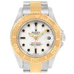 Rolex Yachtmaster Midsize Steel Yellow Gold Unisex Watch 168623
