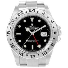 Rolex Explorer II 40 Black Dial Automatic Men's Watch 16570 Unworn