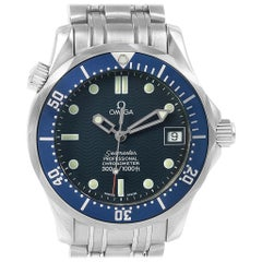 Omega Seamaster Midsize 36 Blue Dial Steel Men's Watch 2551.80.00