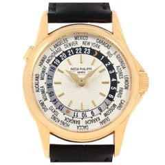 Patek Philippe World Time Complications Yellow Gold Watch 5110J