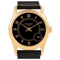 Patek Philippe Calatrava 18 Karat Yellow Gold Automatic Men's Watch 5000J