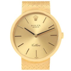 Rolex Cellini Classic 18 Karat Yellow Gold Vintage Men's Watch 4309