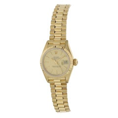 Rolex Datejust 69178 18 Karat Yellow Gold Ladies Watch