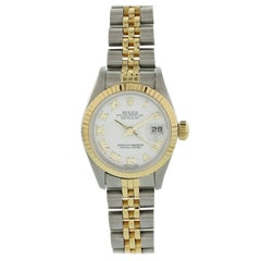 Rolex Oyster Perpetual Datejust 69173 Ladies Watch Original Papers